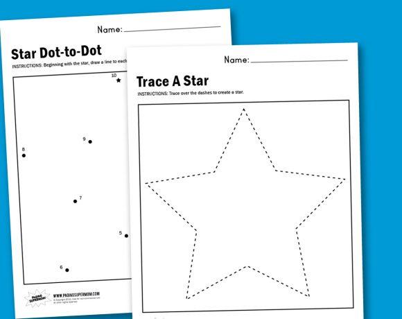 Worksheet Wednesday: Make A Star
