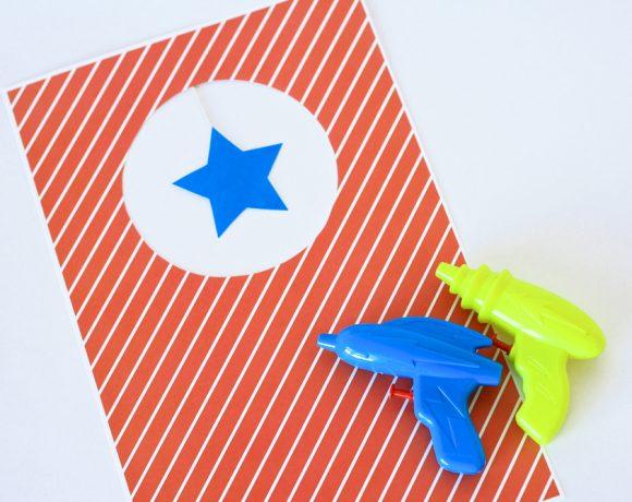 Water Gun Targets & 12 Free Printables!