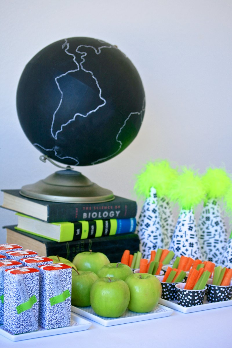 Back to School With Neon Party on PagingSupermom.com #backtoschool #neon