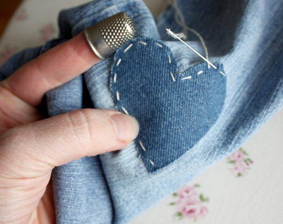 Super-tip: Mending Jeans