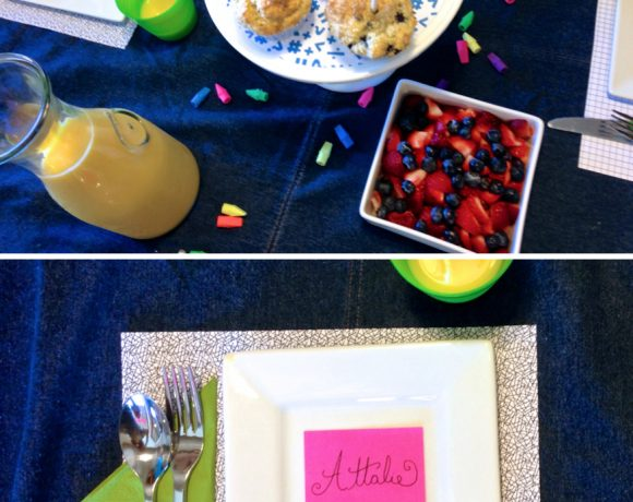 Supermom Moment: Back to School Breakfast