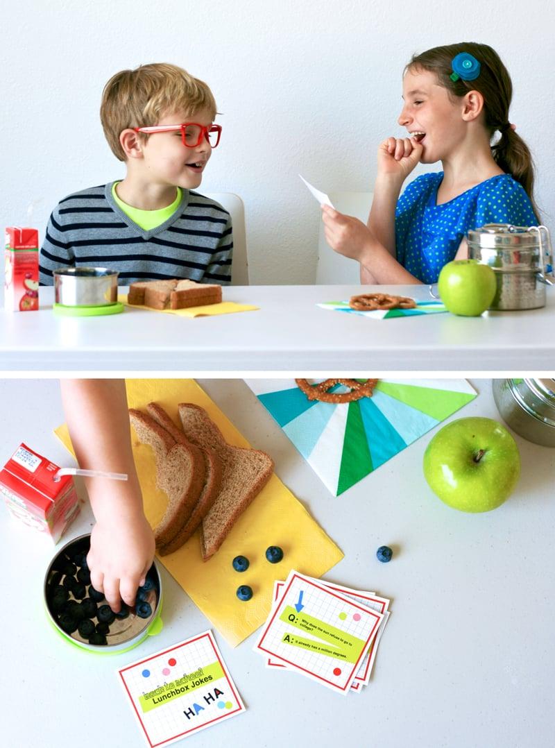 Free Printable Back to School Lunchbox Jokes