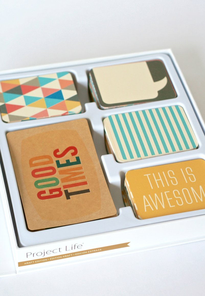 Project Life Kraft Edition a favorite at PagingSupermom.comHow-to-Use-Project-LIfe-Scrapbook 11