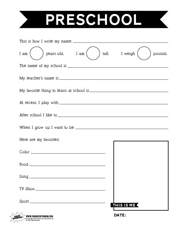 {Backtoschoolprintableworksheets Paging Supermom – Printable School Worksheets