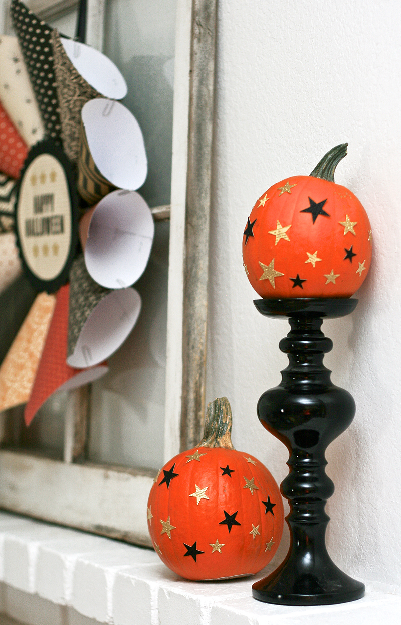 My Halloween Mantle with American Crafts  Paging Supermom - American Halloween Decorations