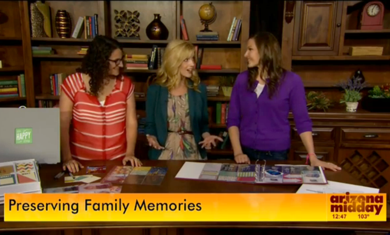 Watch Paging Supermom on NBC's Arizona Midday talking about #ProjectLife and Memory Keeping