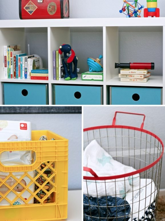 Nursery Organization from Land of Nod at PagingSupermom.com