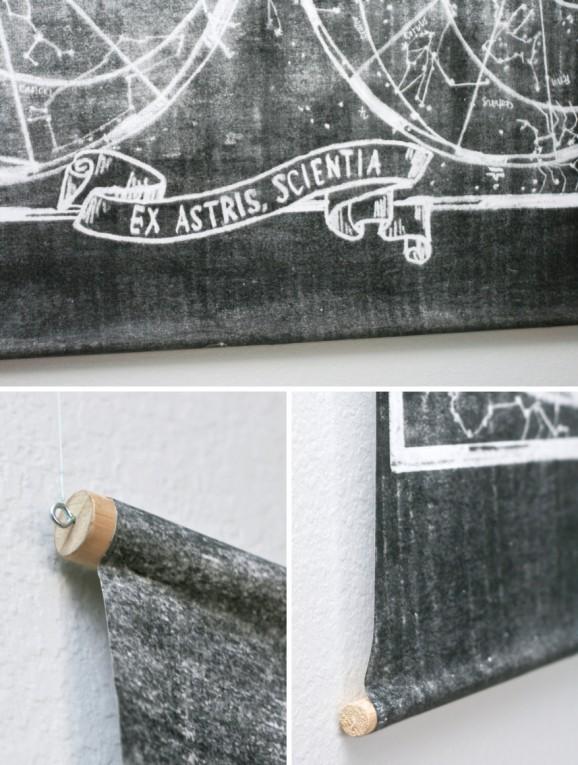 DIY Constellation Wall Art at PagingSupermom.com