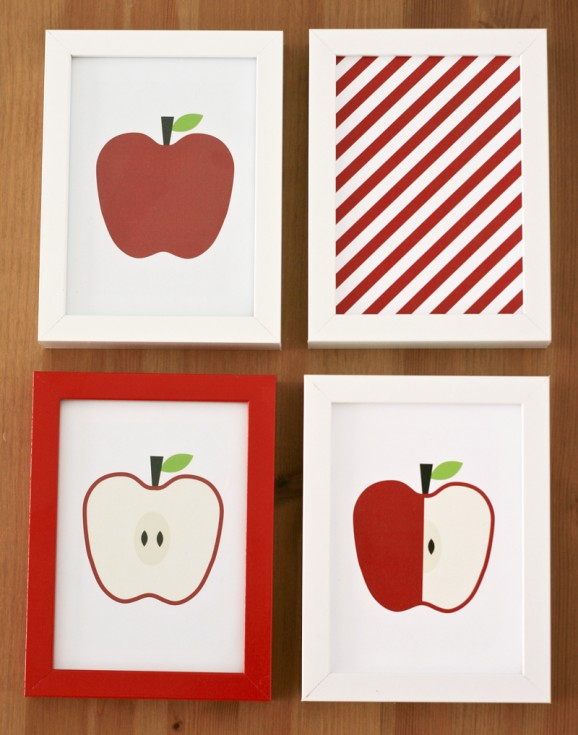 Fall free printable apple art 3 578x735