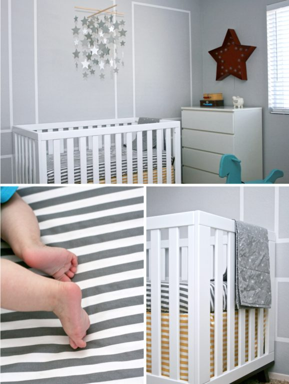 Adorable Land of Nod Baby Boy Nursery