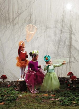 Martha Stewart Woodland Sprite Fairy Costume Tutorial at PagingSupermom.com