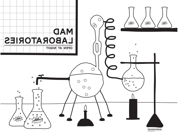 lab coloring pages to print - photo #12