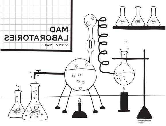 Mad Scientists Laboratory Mad Scientist Laboratory