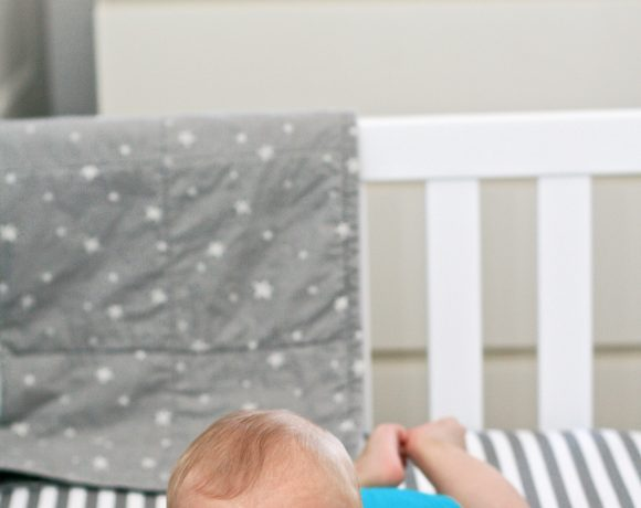Baby Boy Star Gazer Nursery Reveal