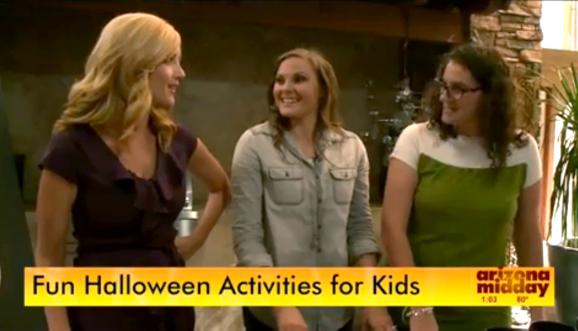 PagingSupermom.com Halloween Activities on Arizona Midday