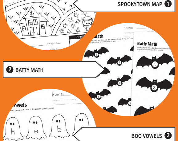 Halloween Worksheet Wednesday!