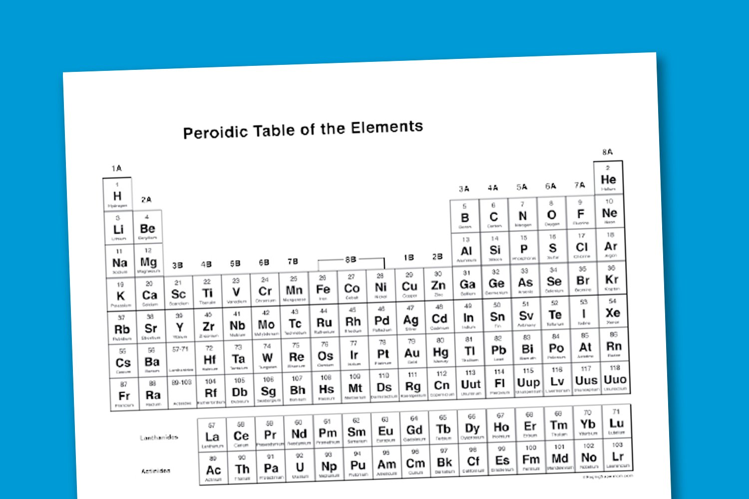 Worksheet wednesday printable periodic table paging supermom gamestrikefo Images