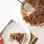 Best Pecan Pie Recipe at PagingSupermom.com