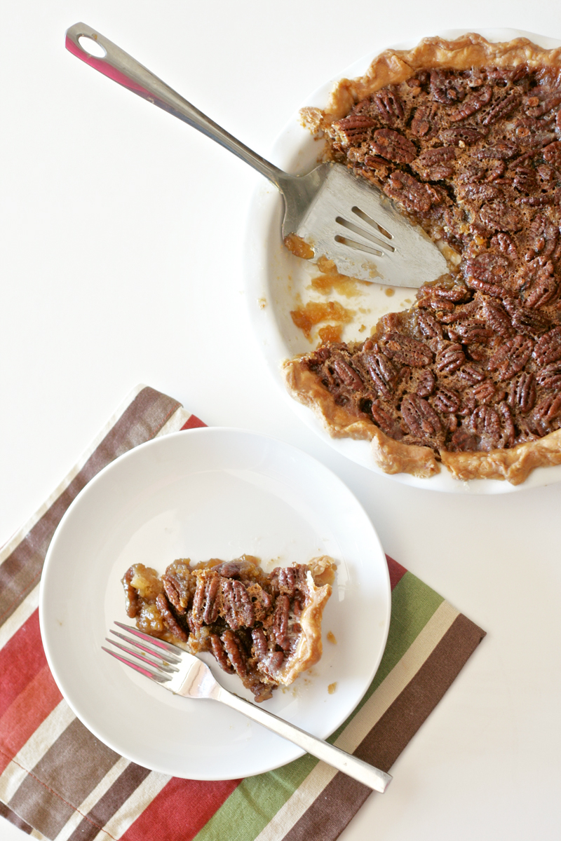 Best Pecan Pie Recipe at PagingSupermom.com