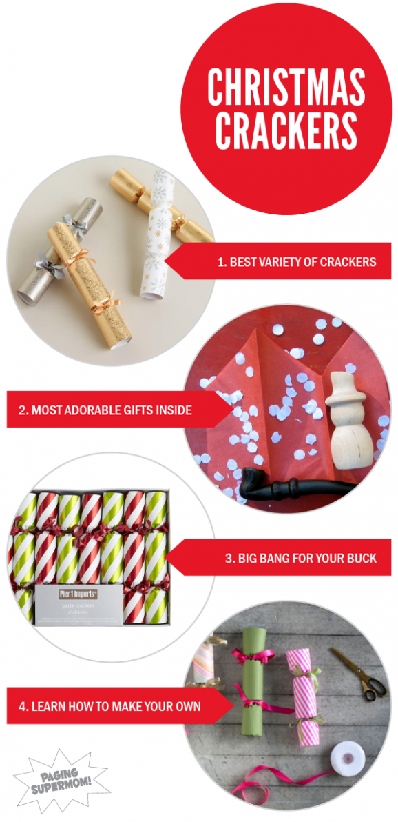 Found on PagingSupermom.com a Round up of the best English-inspired Christmas Crackers