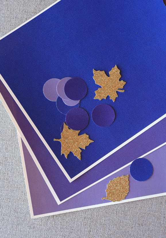 DIY Table Confetti for Thanksgiving
