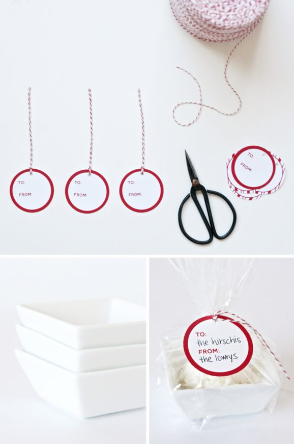 Free Printable Christmas Gift Tags at PagingSupermom.com