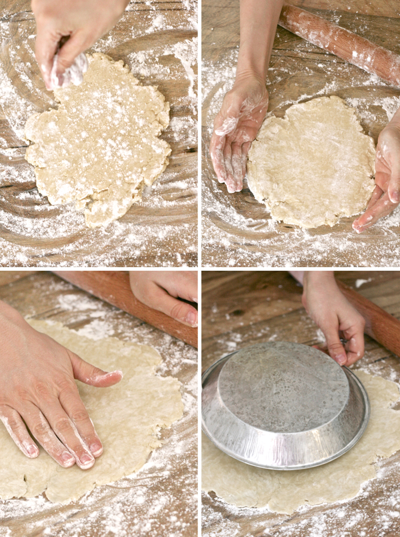 How to Roll out a Pie Crust at PagingSupermom.com
