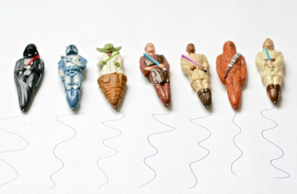 Star Wars Cereal Pens Write in Different Colors -- how cool is that? #Cereal Wars http://r.linqia.cc/3200230