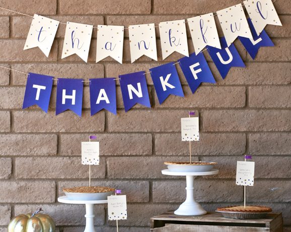 Thankful for Everything Printable Decor