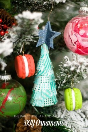 Three Fabulous DIY Ornament Projects #thepartyhop