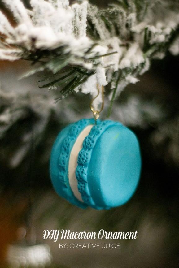 DIY Macaron Ornaments #thepartyhop