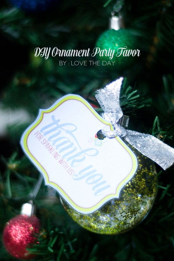 Ornament Party Favor