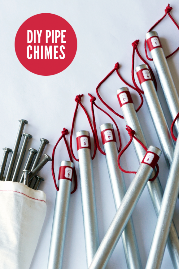 How to Make Metal Pipe Chimes