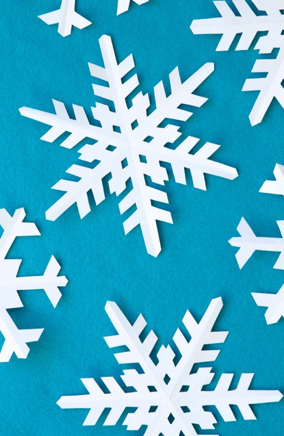 How To Make Snowflakes For Cake Decorating