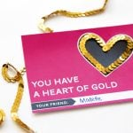 """Heart of Gold"" Free Printable Valentine"