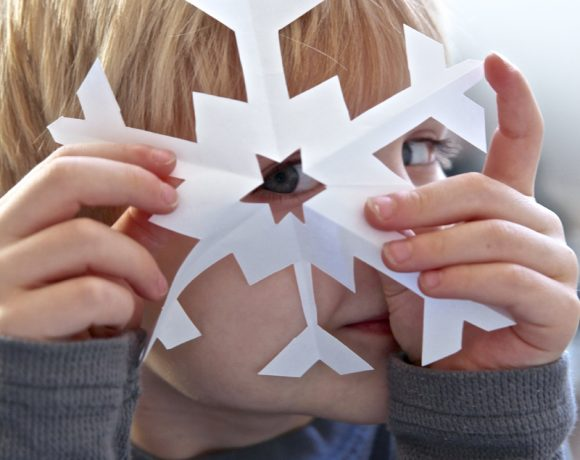 How to Cut Perfect Snowflakes