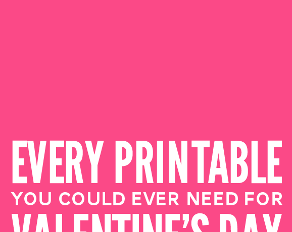 Win 121 Pages of Valentines Printables!