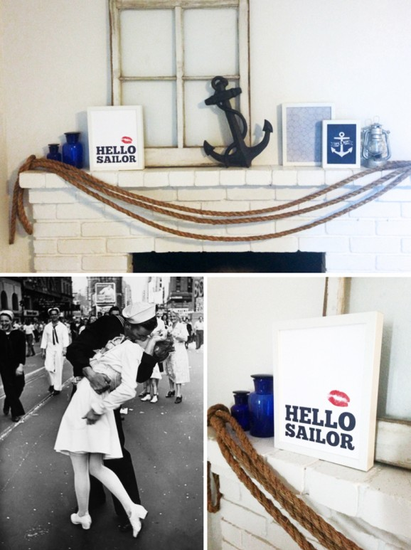 Hello Sailor! Love this Nautical Themed party at PagingSupermom.com #nautical