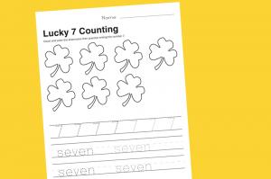 Free Printable Preschool Math Worksheet