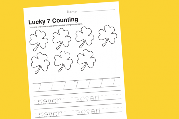 Free Printable Preschool Math Worksheet