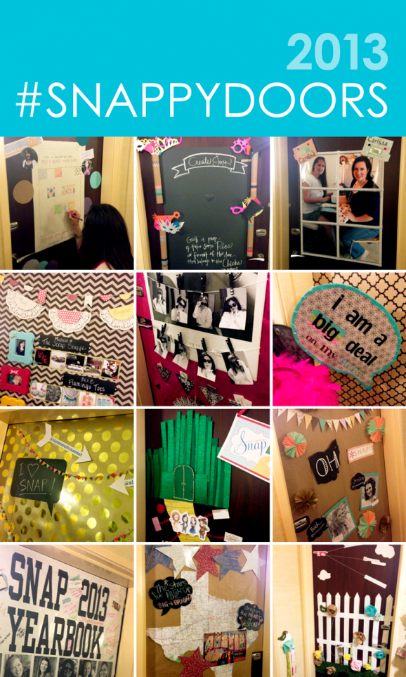 2013 Snappy Doors Door Contest at SNAP Blogger Conference