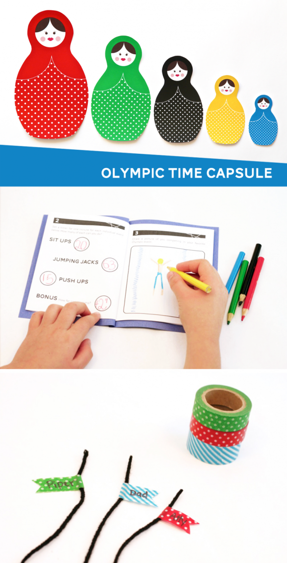 Olympic Time Capsule Project at PagingSupermom.com