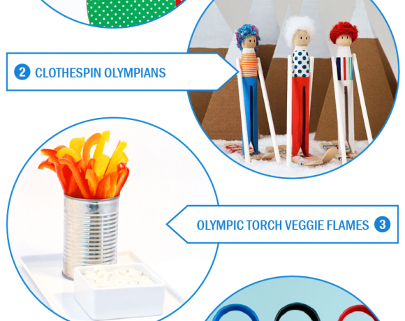 A bunch of fun #Olympics projects to do with the kiddos from PagingSupermom.com