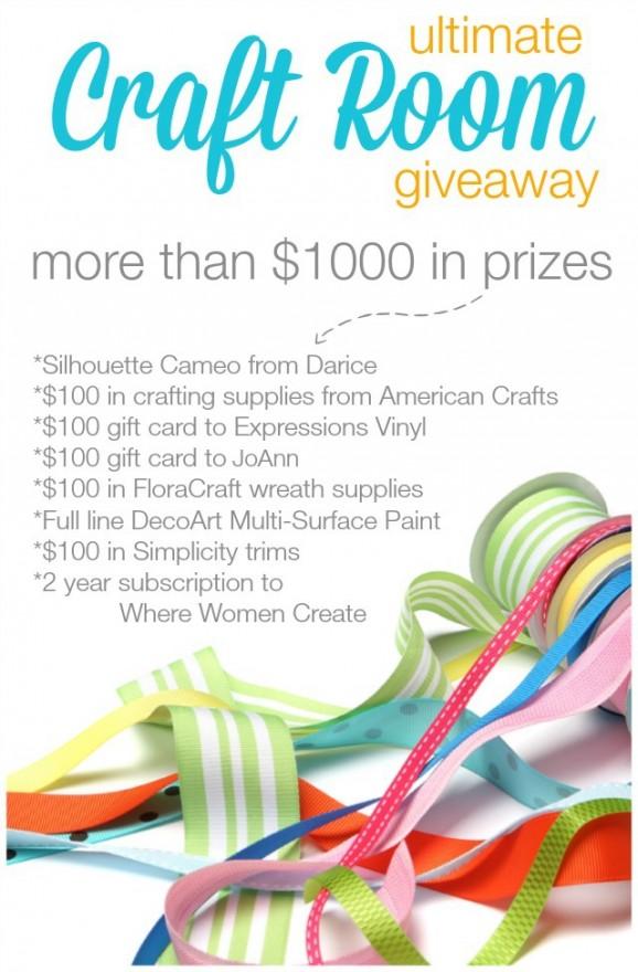 $1000 Ultimate Craft Room Giveaway from #SNAPConf via @PagingSupermom