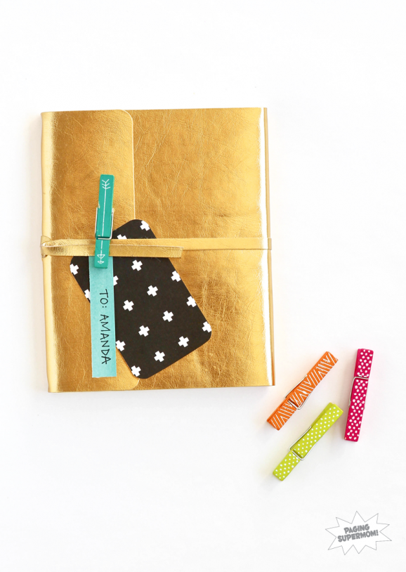 #AmyTangerine Plus One as Gift Wrap via @PagingSupermom
