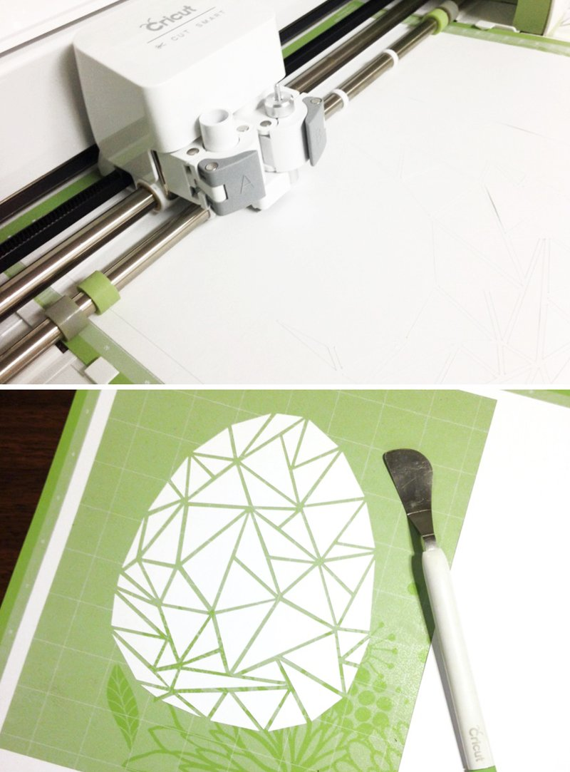Free Cracked Egg art file for the new Cricut Explore via @PagingSupermom