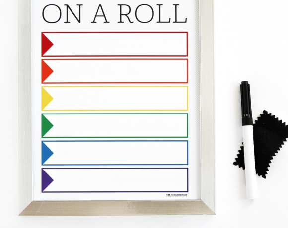 Free Printable Activity or Chore Chart