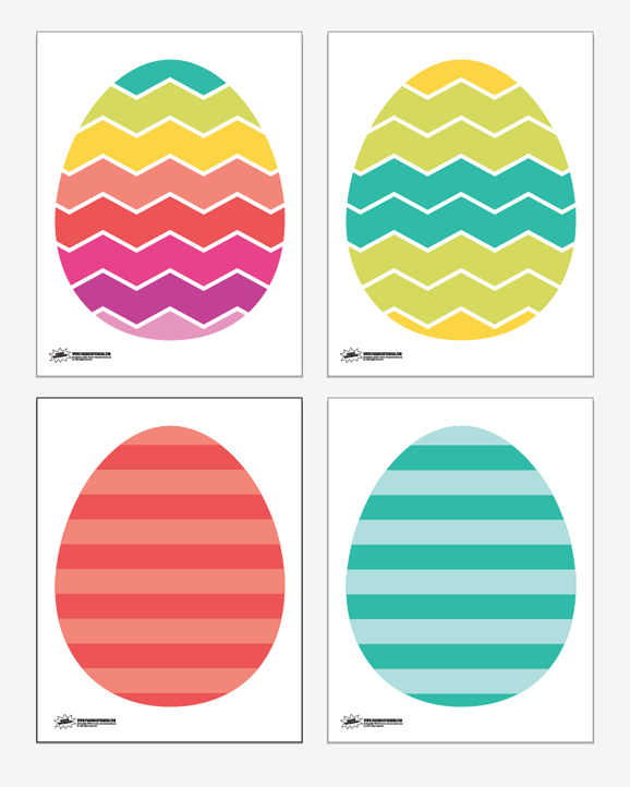 Free Printable Easter Egg Game