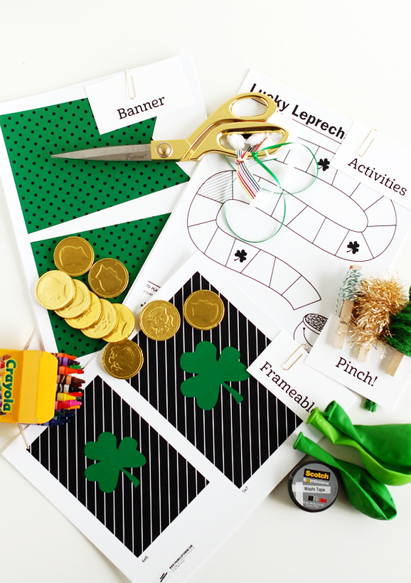 Free Printables for St. Patrick's Day via @PagingSupermom