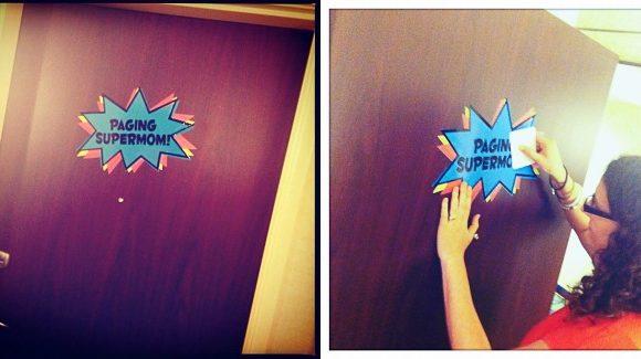 Supermom Door at SNAP 2012